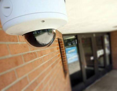 school security camera